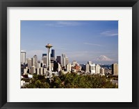 Seattle Cityscape, Seattle, Washington 02 - Color Fine-Art Print