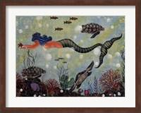 Blue Mermaid Fine-Art Print