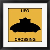 UFO Crossing Fine-Art Print