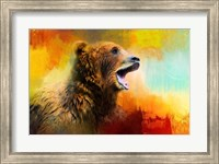 Colorful Expressions Grizzly Bear 2 Fine-Art Print