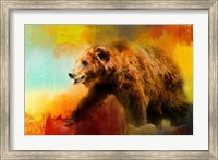 Colorful Expressions Grizzly Bear Fine-Art Print