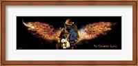 No Greater Love Fireman Rescue Fine-Art Print