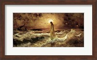 Christ On Water Fine-Art Print