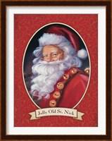 Jolly Old St. Nick Fine-Art Print