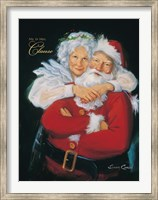 Mr. and Mrs. Claus Fine-Art Print
