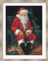 Santa And Presents Fine-Art Print