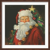 Sparkling Santa Fine-Art Print