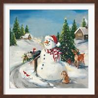 To Santa Fine-Art Print
