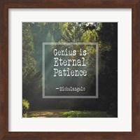 Genius is Eternal Patience - Forest Fine-Art Print