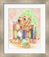 Christmas Box Puppy Fine-Art Print