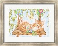 Swing Kitty Fine-Art Print