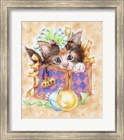 Christmas Box Kitten Fine-Art Print