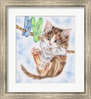 Hang In There Kitty Fine-Art Print