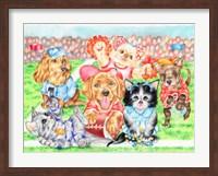 Fluffie Football Fine-Art Print