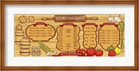 Kitchen Reference Board Fine-Art Print