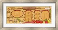 Kitchen Reference Board Fine-Art Print