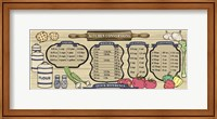 Earth Tone Recipe Board Fine-Art Print