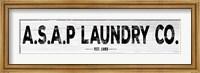 ASAP Laundry Fine-Art Print