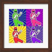 Power Ranger 2 Fine-Art Print