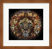 Paint Dawb Lion Fine-Art Print