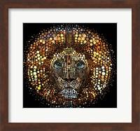 Paint Dawb Lion Fine-Art Print