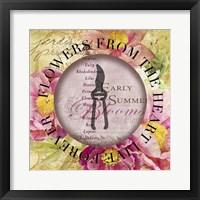 Circled Florals 1 Fine-Art Print
