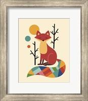 Rainbow Fox Fine-Art Print