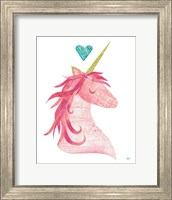 Unicorn Magic I Heart Fine-Art Print