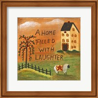 A Home Filled With Laughter Fine-Art Print