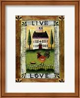 Live & Love Fine-Art Print