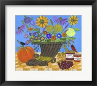 Cornucopia Thanksgiving Sampler Bouquet Lang 2017 Fine-Art Print