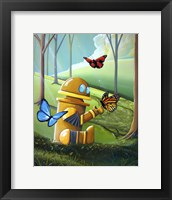 Bot and the Butterflies Fine-Art Print