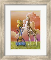 Robots On Safari Fine-Art Print