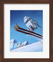 The Downhill Race Fine-Art Print