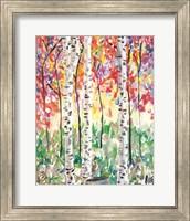 Colorful Birch Forest Fine-Art Print