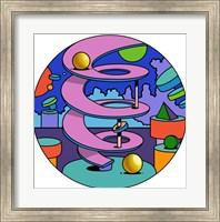 Pink Ramp Circle Fine-Art Print