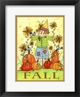 Scarecrow Friends Fine-Art Print