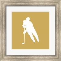 Hockey Player Silhouette - Part IV Fine-Art Print