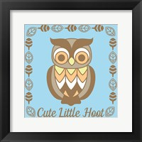 Cute Little Hoot Boy Fine-Art Print