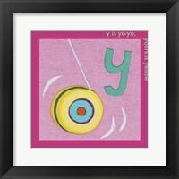 Y is For Yoyo Fine-Art Print