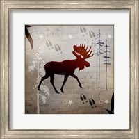 Moose Tracks Fine-Art Print