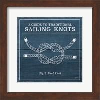 Vintage Sailing Knots III Fine-Art Print