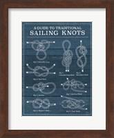Vintage Sailing Knots I Fine-Art Print