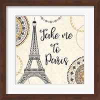 Romance in Paris I Fine-Art Print