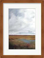 Sunset Over The Marsh I Fine-Art Print