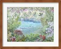 Cascata Tropicale (detail) Fine-Art Print