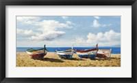 Boats on the Beach Fine-Art Print
