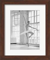 Ballerina Rehearsing Fine-Art Print