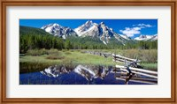 McGown Peak Reflected on a Lake, Sawtooth Mountains, Idaho Fine-Art Print