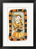 Halloween Scarecrow and Friends Fine-Art Print